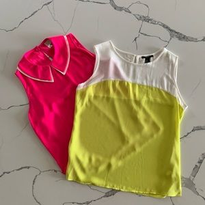 Forever 21 Sleeveless Tops (2)